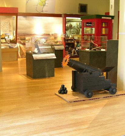 North Otago Museum: A view of the permanent exhibitions