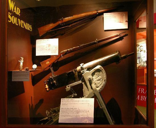 North Otago Museum : War Souvenirs