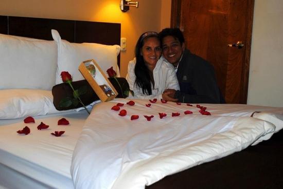 Hotel Unumizu Cusco: detalle aniversario