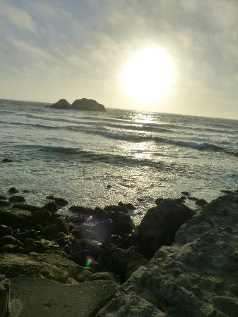 Seal Rock Inn: Sunset @ Sutro Baths