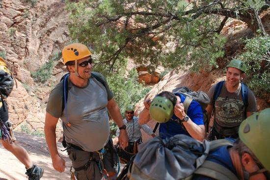 Zion Adventure Company: On the way out