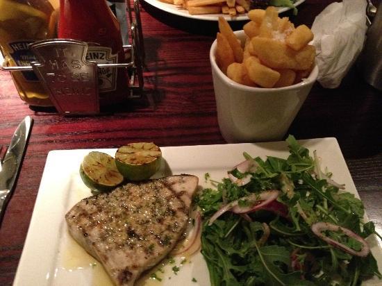 The Coachman Hotel & Restaurant: Swordfish steak - nicely done