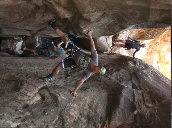 Zion Adventure Company: Sticky boots are a plus