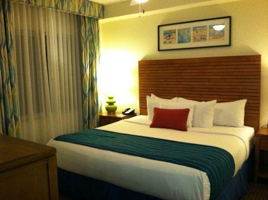Wyndham Oceanside Pier Resort: Master BR