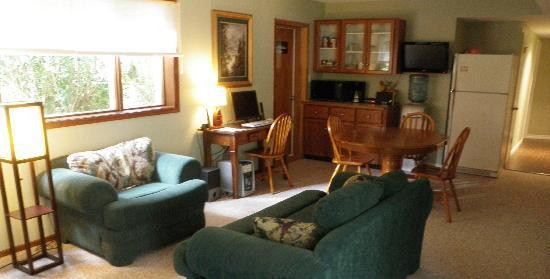 ريفربند جيست هاوس للمبيت والإفطار: Guest lounge