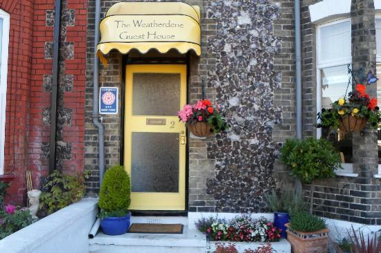 The Weatherdene: The lovely entrance