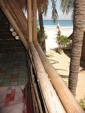 Jungle Beach VietNam: Fabulous View From The Upstairs Bedroom