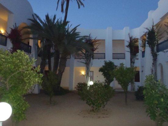 """El Mouradi Djerba Menzel: Courtyard inside our """"menzel"""""""