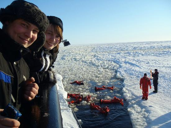 Lapponia Safaris - Day tours: Arctic Swim on a Sampo Icebreaker cruise