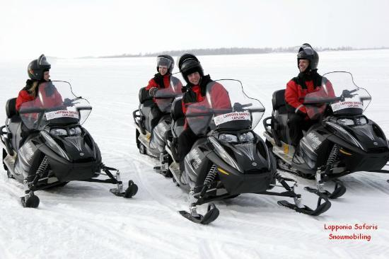 Lapponia Safaris - Day tours: Ready to start your snowmobile safari?