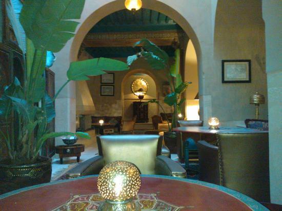 Riad Camilia: la salle à manger