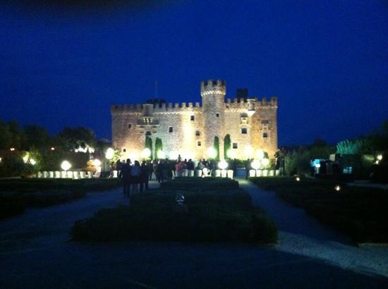 Castillo de la Arquijuela SL.: vista del castillo de Arguijuelas