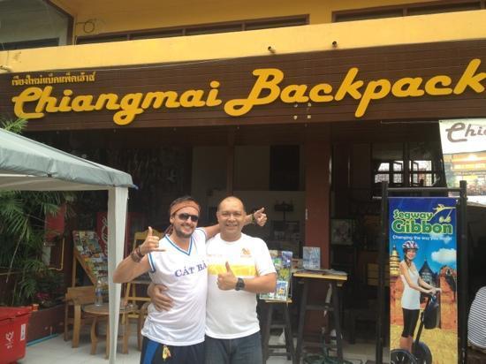 Chiangmai Backpack House: The main man Tony!!