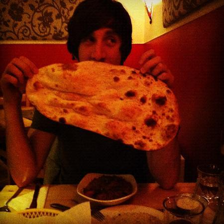 The Corner Cafe: The Gargantuan Naan!