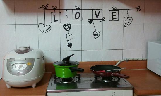 SoDam Guesthouse: kitchen