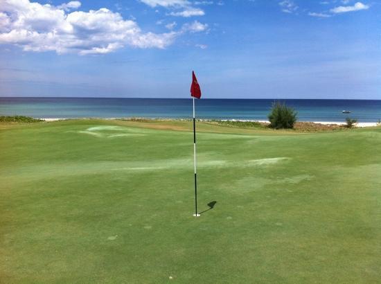 Danang Golf Club: 16th green