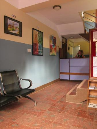 Heart of Bhaktapur Guest House: Reception area