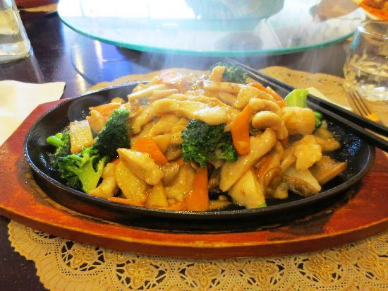 Eastern Ocean Chinese Restaurant: Sizzling Chicken with veges in Black Bean Sauce