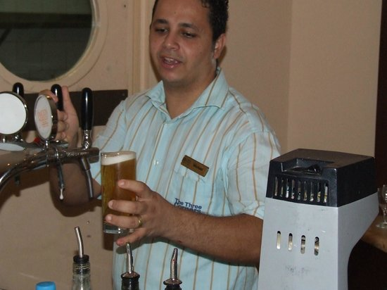 Three Corners Ocean View Hotel - Adults only :                   micheal at the bar