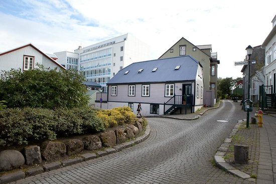 Reykjavik Treasure B&B and neighborhood