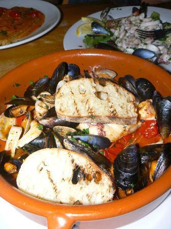 Posillipo: fish soup