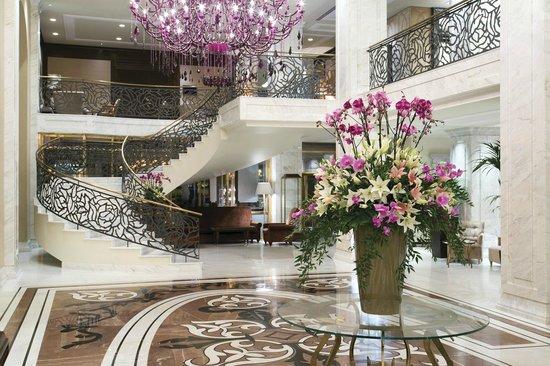Hotel Baltschug Kempinski Moscow: Lobby Area