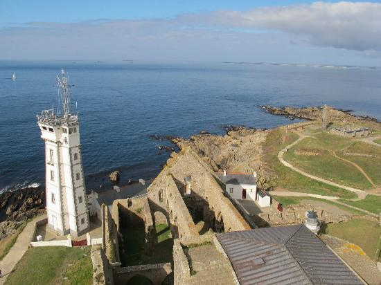 pointe Saint-Mathieu: view from the lighthouse