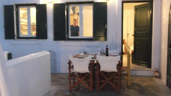 Aspasia Maria: terrazza
