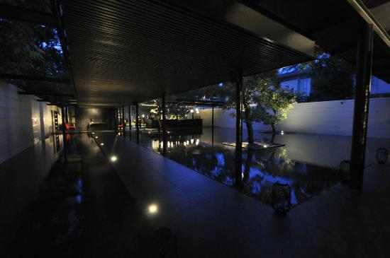 SALA Phuket Resort and Spa: Lobby - nightview
