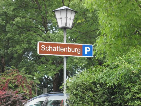 Schattenburg Museum: Bitte hier parken