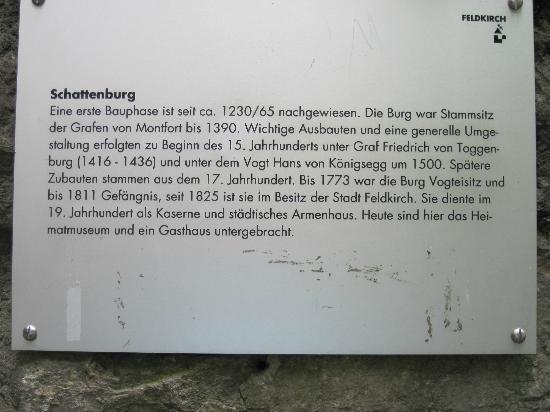 Feldkirch, Austria: Beschreibung