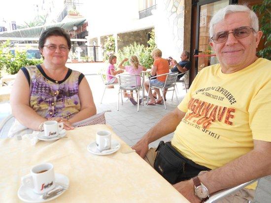 Albergo Perla: pausa caffè