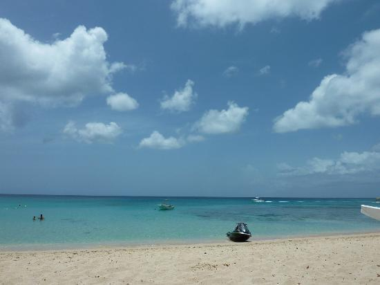 Tamarind by Elegant Hotels: The beach - generally a jetski parked up and available