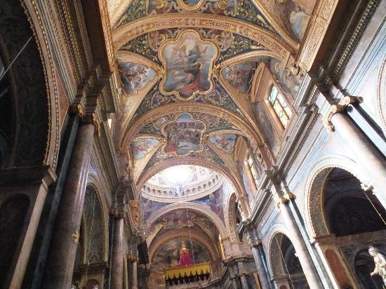 เชิร์ชออฟเซนต์พอลส์ชิปเร็ค: Painted ceiling