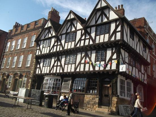 Lincoln Visitor Information Centre : Full of Olde Worlde Charm