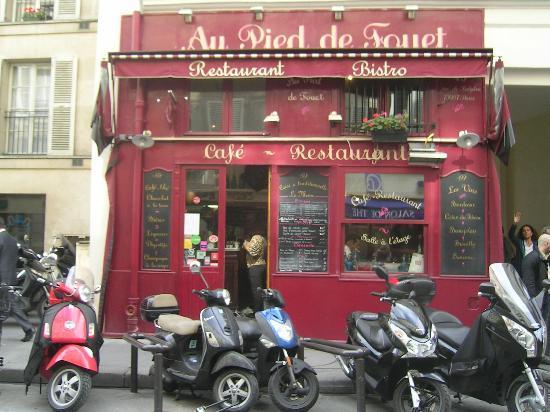 Au Pied de Fouet: Il ristorante