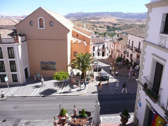 Hotel El Poeta de Ronda: DESDE LA HABITACION