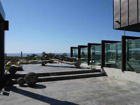 Areias do Seixo: La terrasse