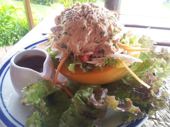 Nakia Resort & Dive: Tuna salad