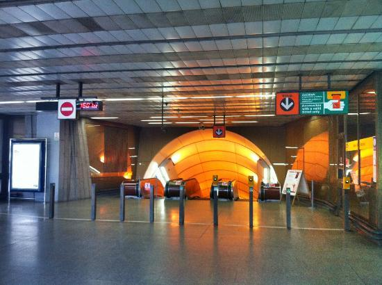 """Herrmes: Metro station """"Jinonice"""""""