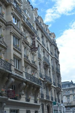 Palym Hotel: The beautiful Parisian architecture