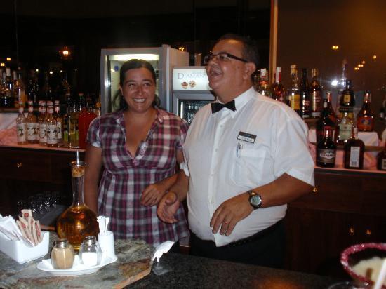 Hotel Diamante Suites: cambio de profesion