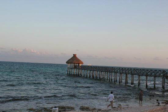 The Grand Mayan Riviera Maya: Beach area