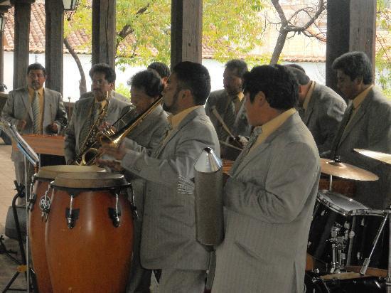 Templo del Carmen: Marimba en el Centro Cultural del Carmen