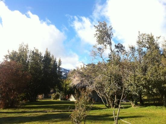 Cabanas Eluney: frente al SUM