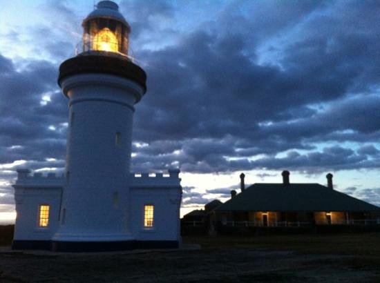 Currarong, Australia: lit up for International Lighthouse Weekend