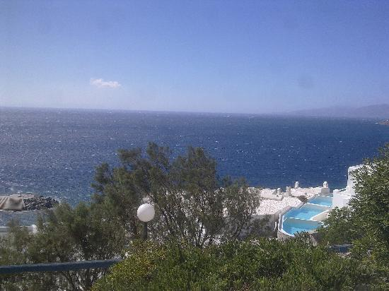 Hotel Gorgona : View from the Balcony of Guest Room