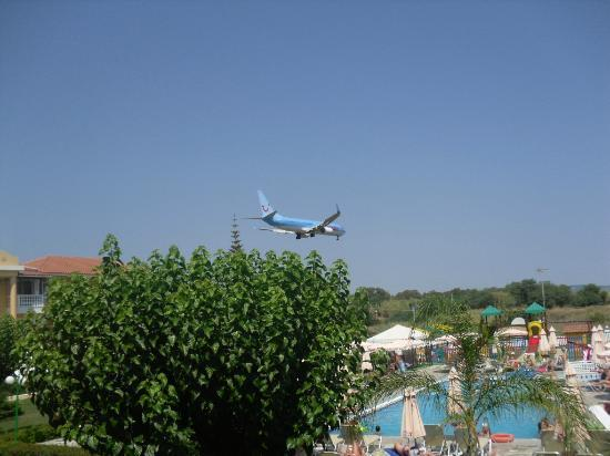 Hotel Macedonia: The aircraft noise is not a problem,don't worry !