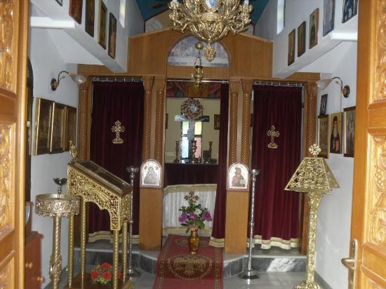 Hotel Macedonia: Inside of church in hotel grounds
