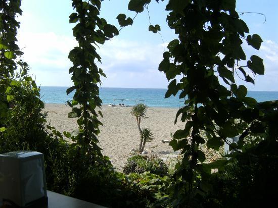 Safak Beach Hotel: Die Aussicht beim Frühstück